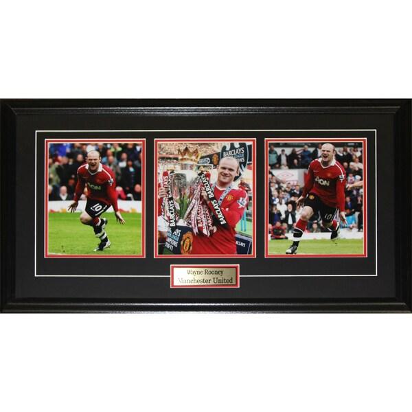 Wayne Rooney Machester United 3 Photograph Frame