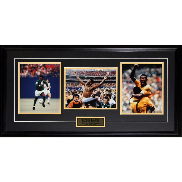 Pele Soccer World Cup Champion 3 Photograph Frame