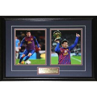 Lionel Messi Barcelona Fc Soccer 2-photo Frame