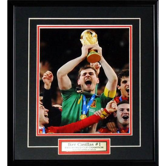 Iker Casillas 2010 Spain 8x10-inch Frame