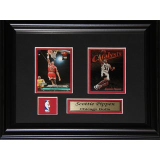Scottie Pippen Chicago Bulls 2-card Frame