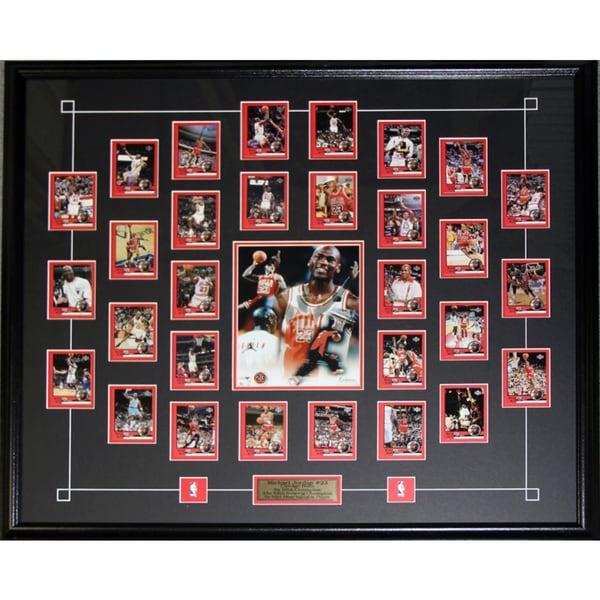 Michael Jordan Upper Deck Tribute Card Set Frame Free Shipping Today 18883772