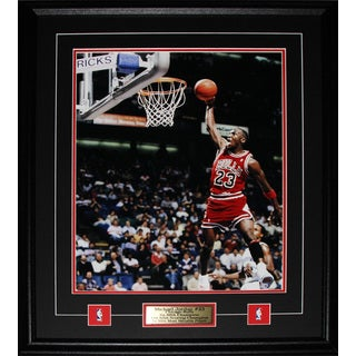 Michael Jordan Chicago Bulls Basketball Nba 16x20-inch Frame
