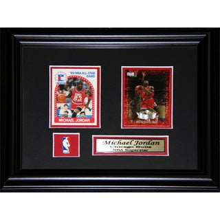 Michael Jordan Chicago Bulls 2-card Frame
