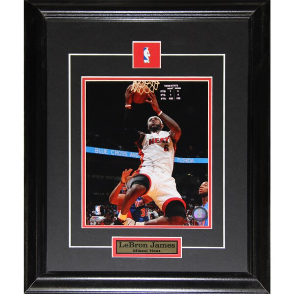 Lebron James Miami Heat 8x10-inch Frame
