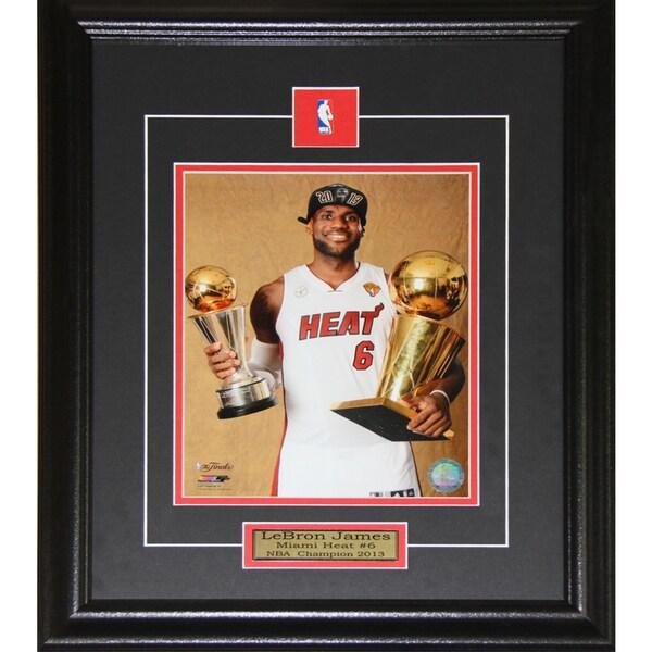 Lebron James Miami Heat 2013 Champion 8x10-inch Frame