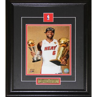 Lebron James Miami Heat 2013 Champion 8x10-inch Frame