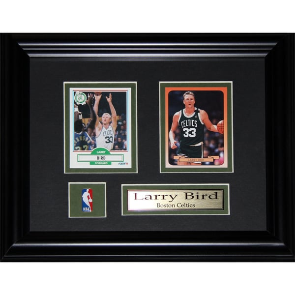 Larry Bird Boston Celtics Nba 2-card Frame