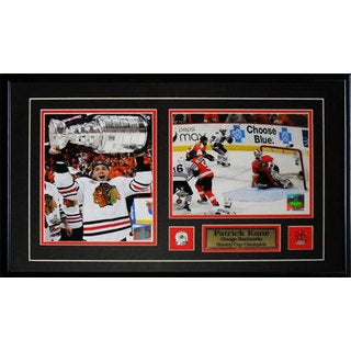 Patrick Kane Chicago Blackhawks Stanley Cup 2-photo Frame