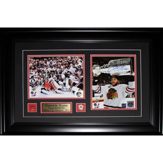 Patrick Kane Chicago Blackhawks 2013 Stanley Cup Signed 2-photo Frame