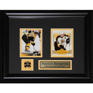 Patrice Bergeron Boston Bruins 2-card Frame