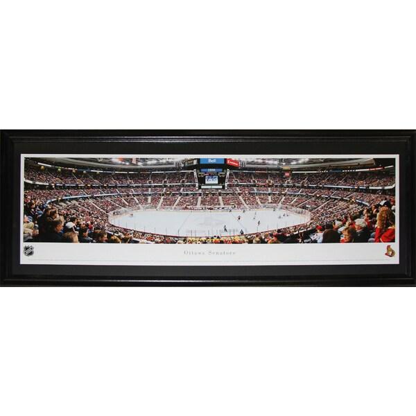 Ottawa Senators Scotiabank Place Panorama Frame