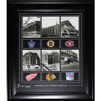 Original Six Arenas 16x20-inch Compilation Frame