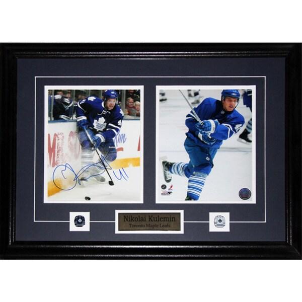 Nikolai Kulemin Toronto Maple Leafs Signed 2-photo Frame