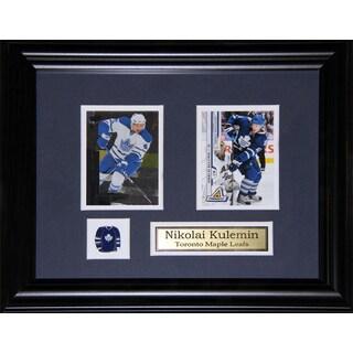 Nikolai Kulemin Toronto Maple Leafs 2-card Frame