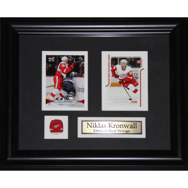 Niklas Kronwall Detroit Red Wings 2-card Frame
