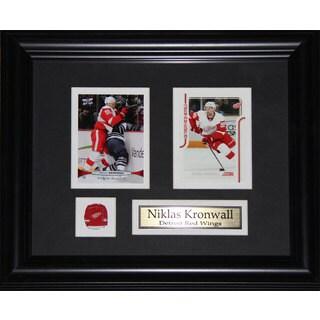 Niklas Kronwall Detroit Red Wings 2-card Frame