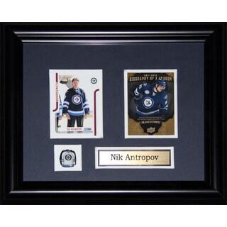 Nik Antropov Winnipeg Jets 2-card Frame