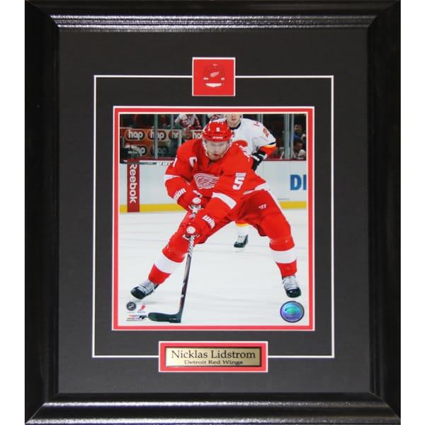 Nicklas Lidstrom Detroit Red Wings 8x10-inch Frame
