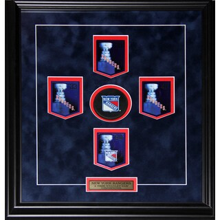 New York Rangers Stanley Cup Panini Cards Frame