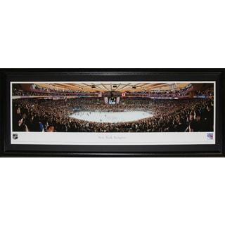 New York Rangers Madison Square Garden Panorama Frame
