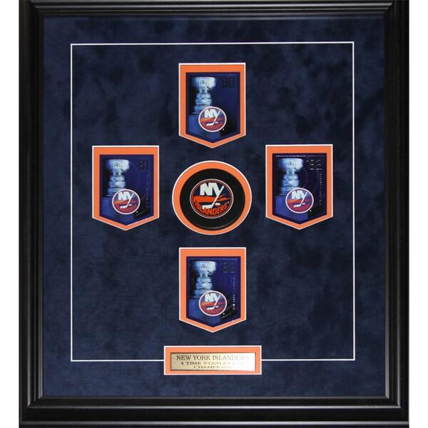 New York Islanders Stanley Cup Panini Cards Frame