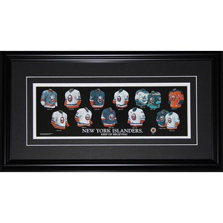 New York Islanders Jersey Evolution Frame