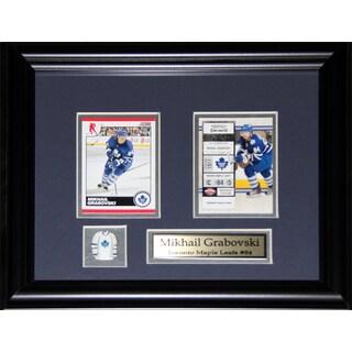 Mikhail Grabovski Toronto Maple Leafs 2-card Frame