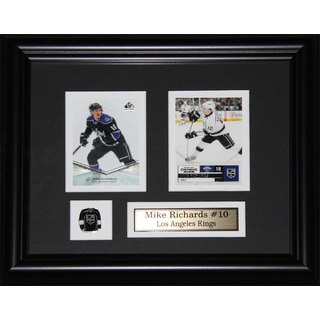 Mike Richards Los Angeles Kings 2-card Frame