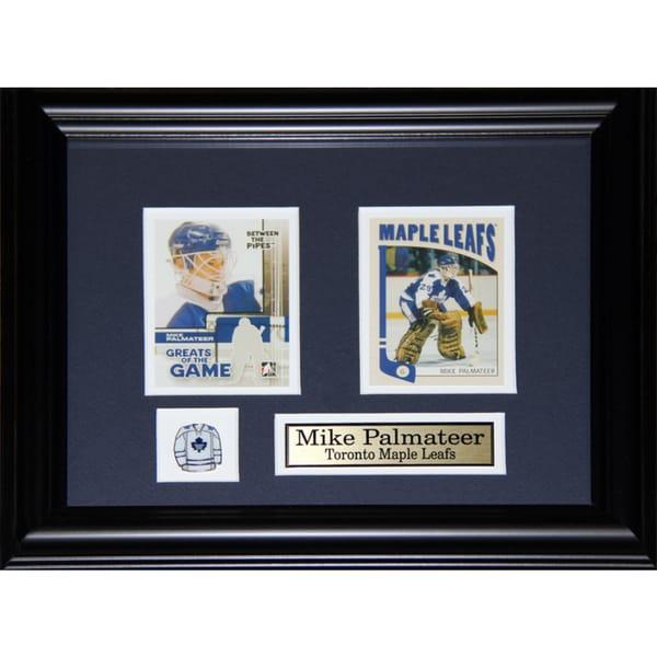 Mike Palmateer Toronto Maple Leafs 2-card Frame