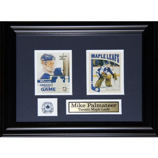 Mike Palmateer Toronto Maple Leafs 2-card Frame