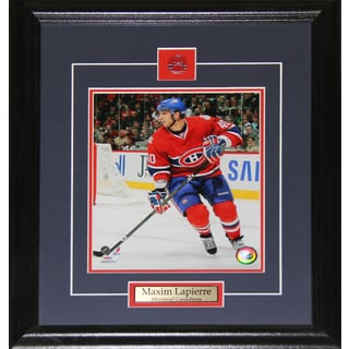 Maxim Lapierre Montreal Canadiens 8x10-inch Frame