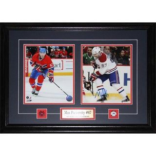 Max Pacioretty Montreal Canadiens Signed 2-photo Frame