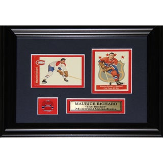 Maurice Richard Montreal Canadiens 2-card Frame
