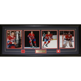 Maurice Richard Jean Beliveau Guy Lafleur Patrick Roy 4 Photo Frame