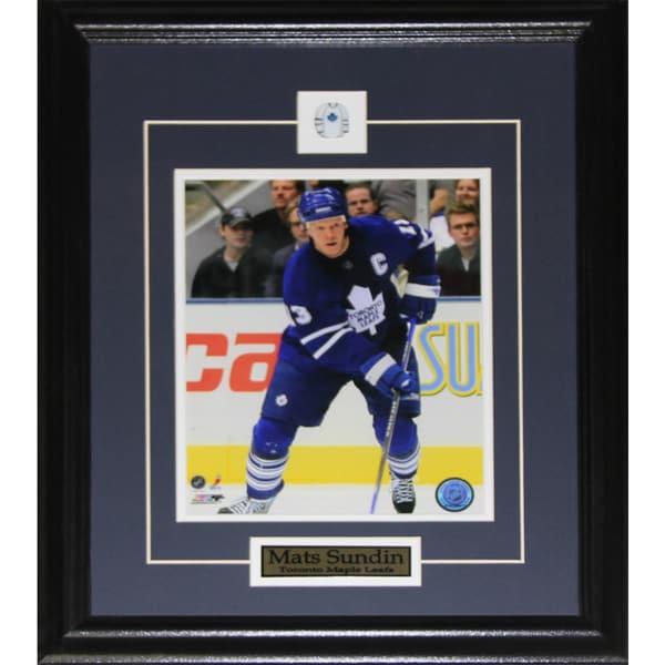 Mats Sundin Toronto Maple Leafs 8x10-inch Frame