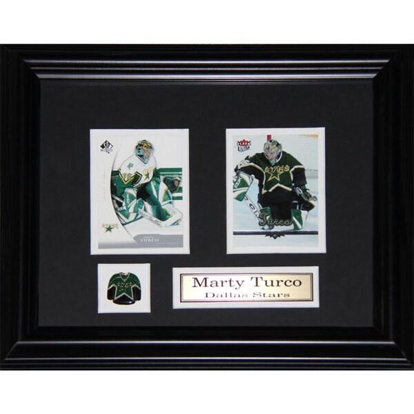 Marty Turco Dallas Stars 2-card Frame