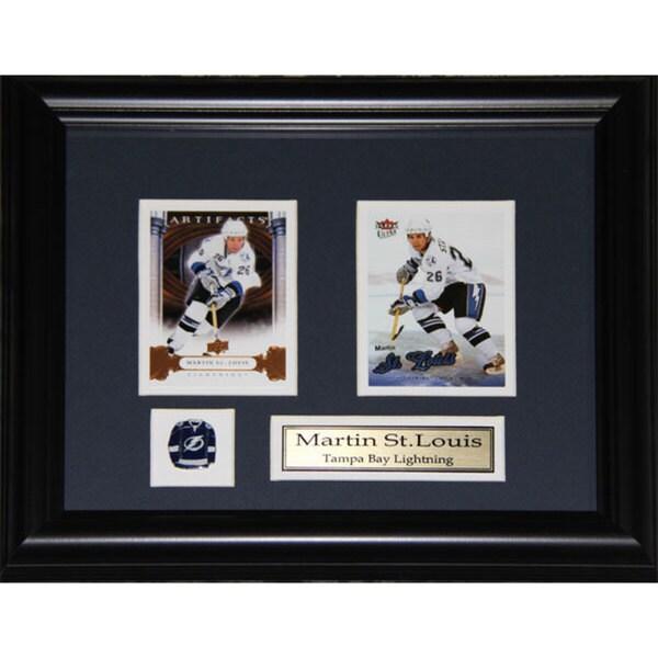 Martin St. Louis Tampa Bay Lightning 2-card Frame