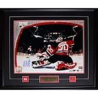 Martin Brodeur New Jersey Devils Signed 16x20-inch Frame