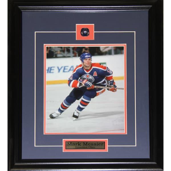 Mark Messier Edmonton Oilers 8x10-inch Frame