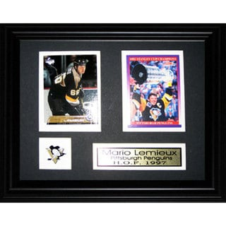 Mario Lemieux Pittsburgh Penguins 2-card Frame
