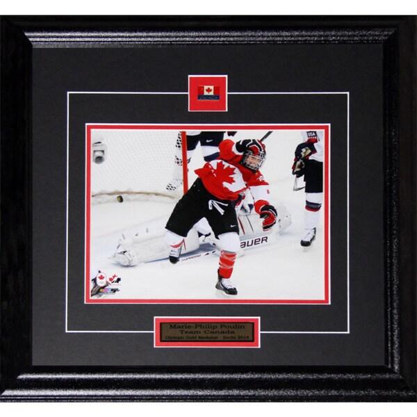Marie-philip Poulin 2014 Team Canada 8x10-inch Frame