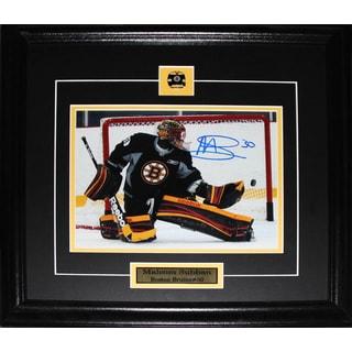 Malcolm Subban Boston Bruins Signed 8x10-inch Frame
