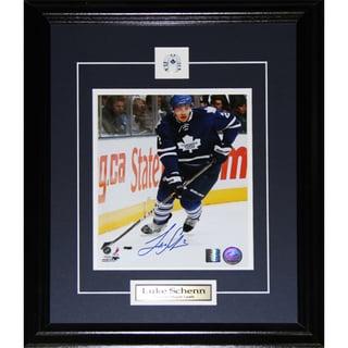 Luke Schenn Toronto Maple Leafs Signed 8x10-inch Frame