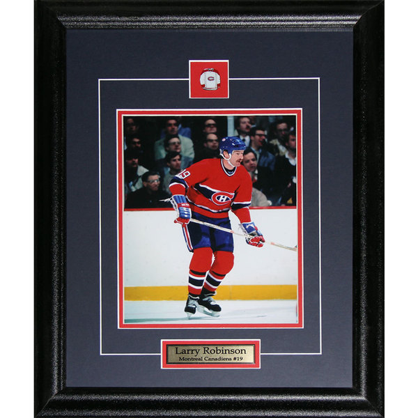 Larry Robinson Montreal Canadiens 8x10-inch Frame