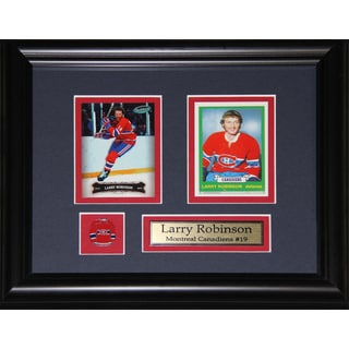Larry Robinson Montreal Canadiens 2-card Frame