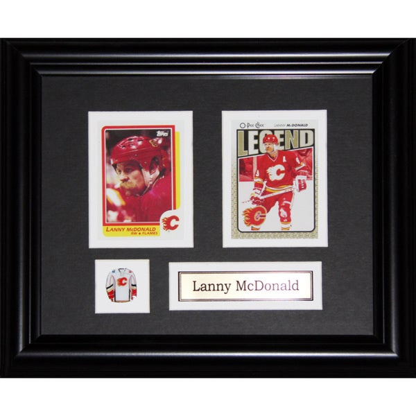 01d0ddc8e69 Shop Lanny Mcdonald Calgary Flames 2-card Frame - Free Shipping Today -  Overstock.com - 12006798