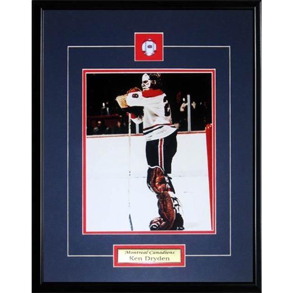 Ken Dryden Montreal Montreal Canadiens 8x10-inch Frame