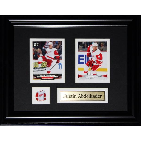 Justin Abdelkader Detroit Red Wings 2-card Frame