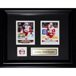 Justin Abdelkader Detroit Red Wings 2-card Frame